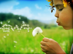 dijete priroda zeleno